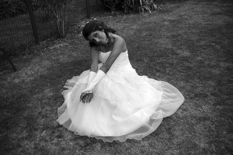 La robe en fleur