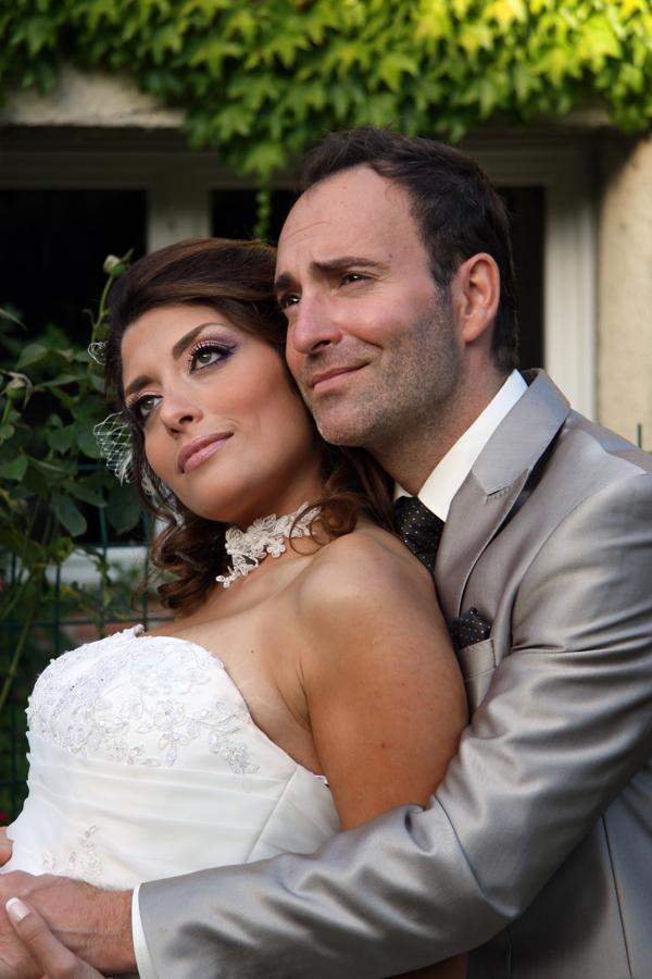 Les mariés passionnés