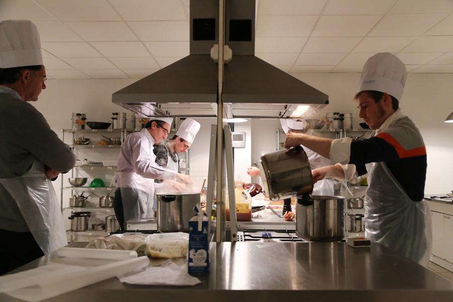 Atelier de cuisine - Airbus-262