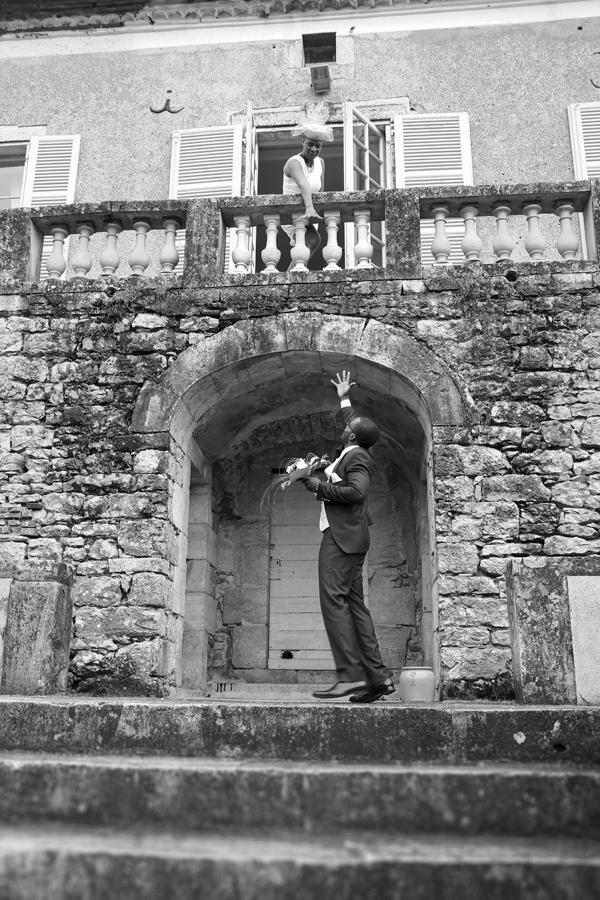 Photographe Mariage Cahors / Au balcon