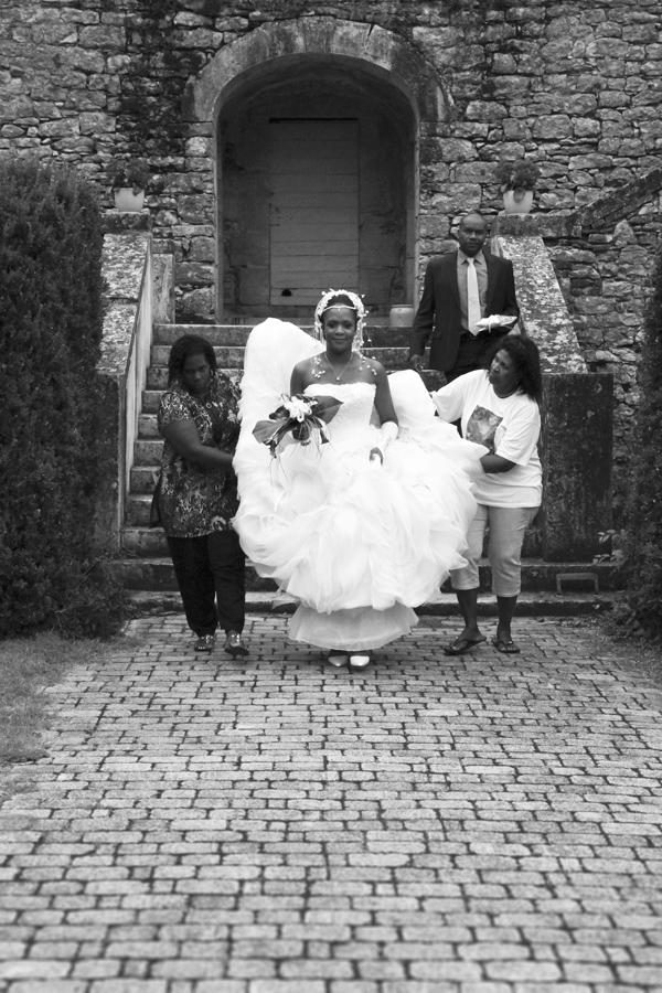 Photographe Mariage Cahors / L'arrivée de la mariée