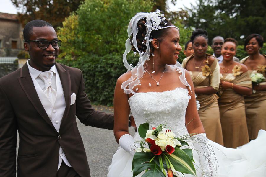 Photographe Mariage Cahors / Les mariés et les témoins