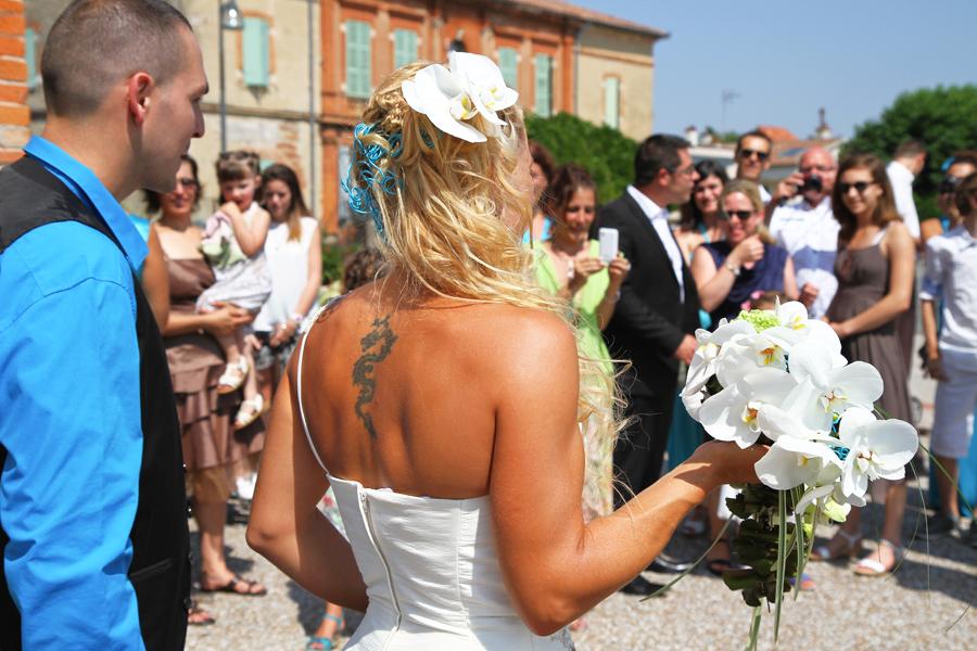 Photographe Mariage Bérat / Le bouquet de la mariée