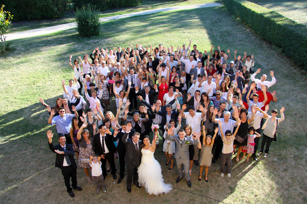 Photographe mariage l'Isle Jourdain - Photos de groupe