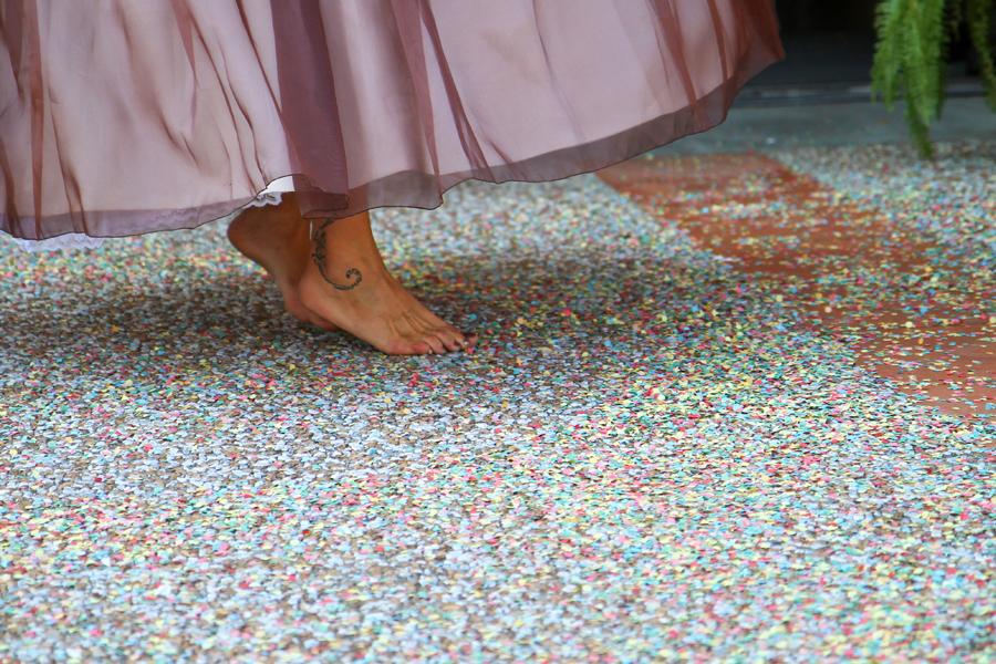 La danse des pieds
