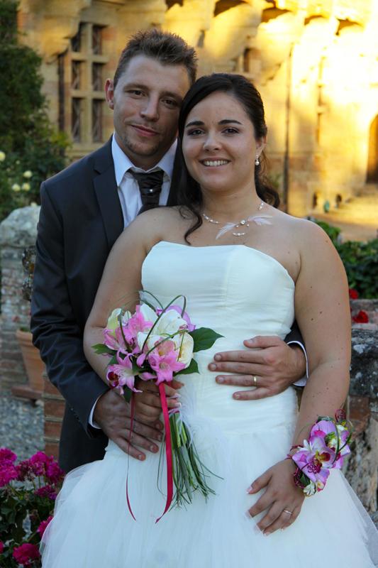 Photographe mariage l'Isle Jourdain - Les mariés
