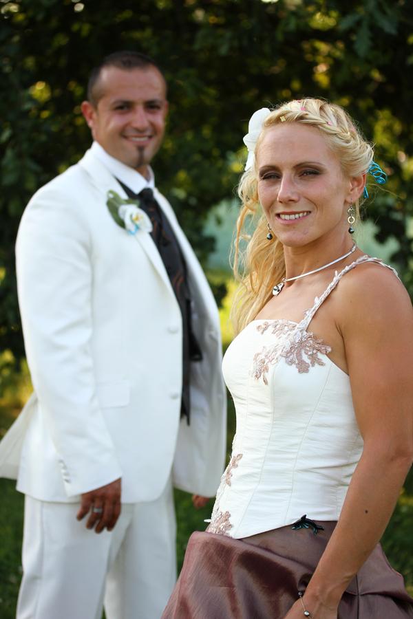 Le marié en flou