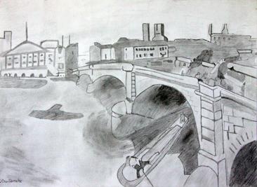 Cours d'arts plastiques ados Toulouse - Dessin crayon/2