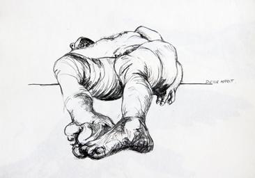Cours arts plastiques adulte Toulouse - Anatomie crayon/1