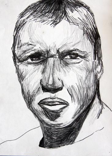 Cours arts plastiques adulte Toulouse - Portrait crayon