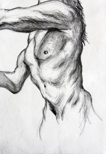 Cours arts plastiques adulte Toulouse - Anatomie crayon/2