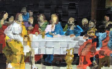 Cours arts plastiques adulte Toulouse - La cène