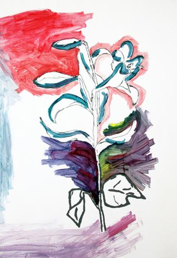 Cours d'arts plastiques ados Toulouse - Composition florale