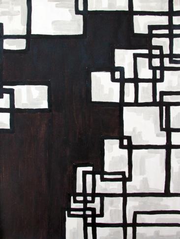 Cours d'arts plastiques ados Toulouse - Composition abstraite