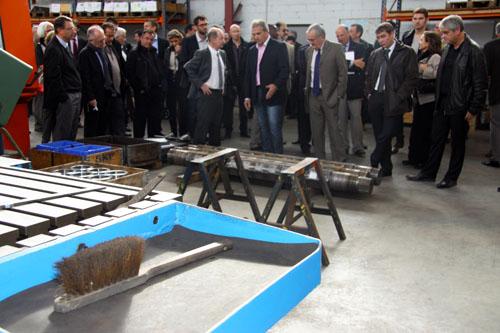 Reportage industriel Toulouse - Visite d'atelier/1
