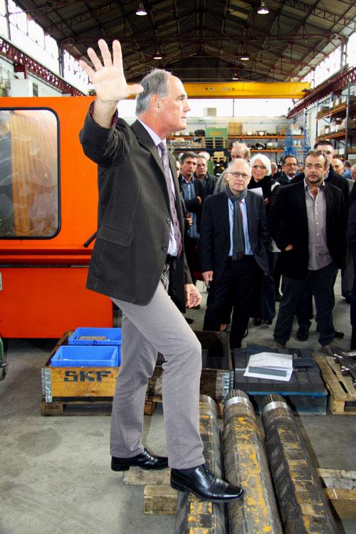 Reportage industriel Toulouse - Visite d'atelier/2