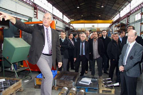 Reportage industriel Toulouse - Visite d'atelier/3