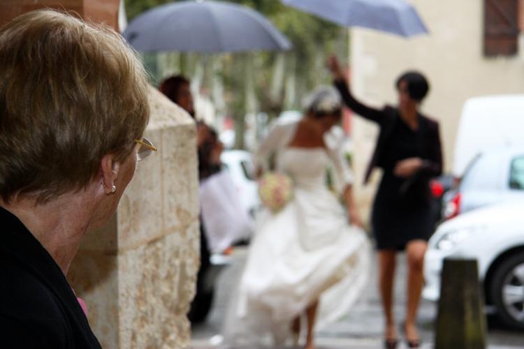 Photographe mariage Auch - L'approche de la mariée