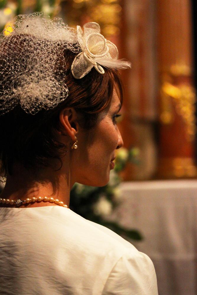 Photographe mariage Auch - La mariée à l'église