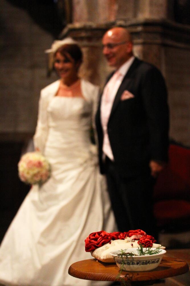 Photographe mariage Auch - Les mariés à l'église