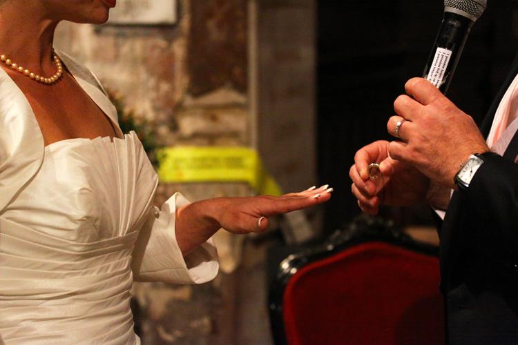 Photographe mariage Auch - L'échange de bague