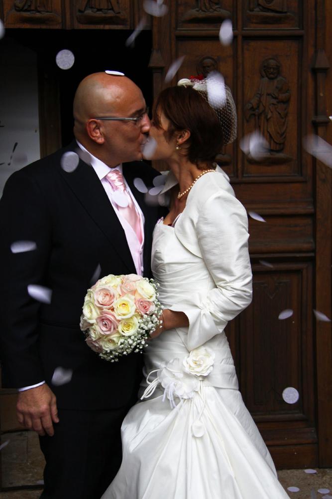 Photographe mariage Auch - Sortie de l'église