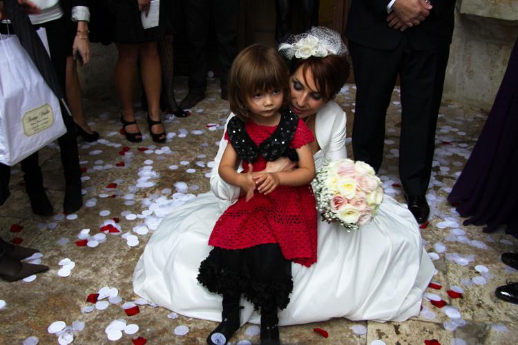 Photographe mariage Auch - La mariée et sa fille