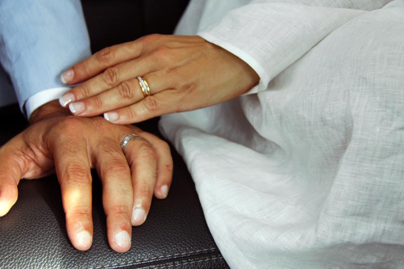 Photographe mariage Albi - Les alliances