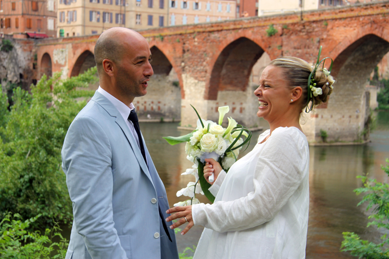 Photographe mariage Albi - La rencontre des mariés