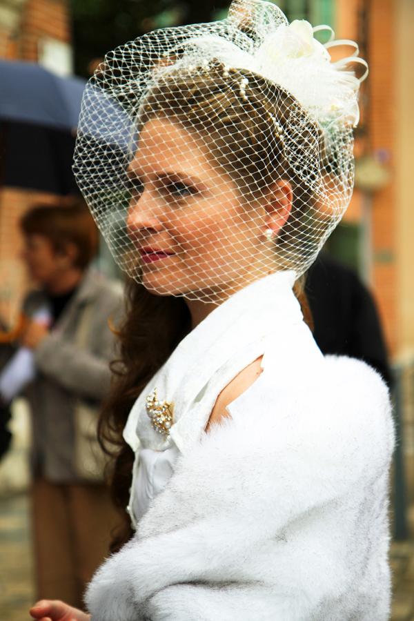 La mariée avant la cérémonie