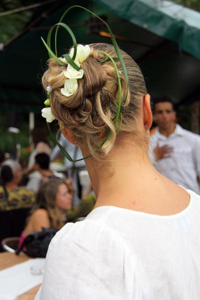 Photographe mariage Albi - La coiffure de la mariée