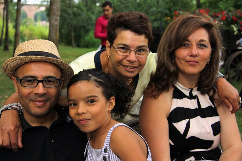 Photographe mariage Albi - Les invités au vin d'honneur