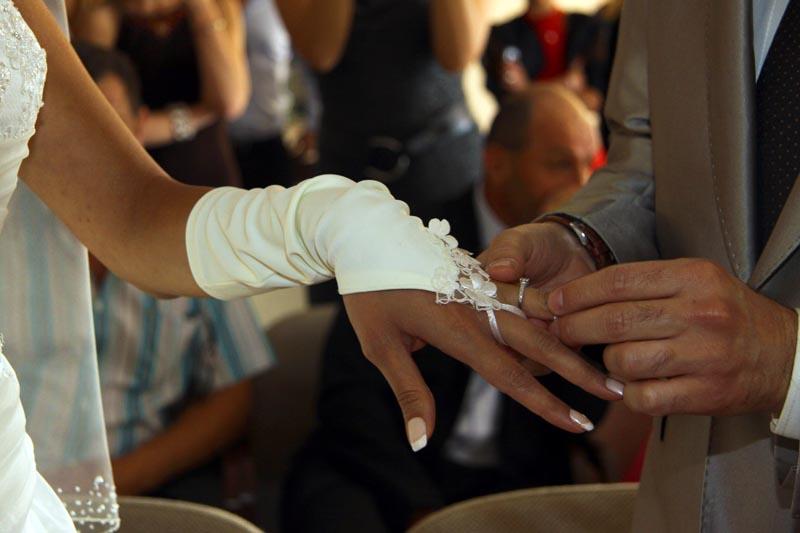 photographe mariage Toulouse - Echange des alliances