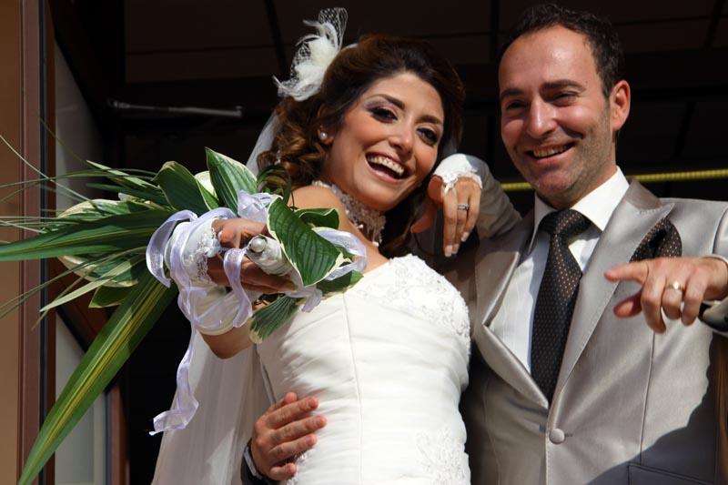 Photographe mariage Toulouse - La sortie des mariés