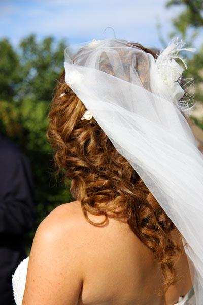 photographe mariage Toulouse - le voile de la mariée