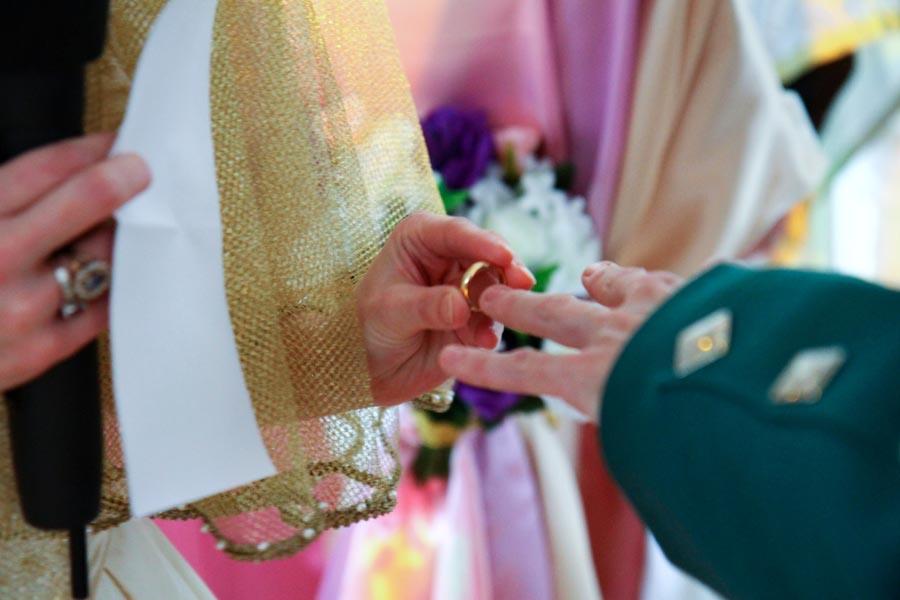 Photographe mariage Castelsarrasin / Echange des allainces