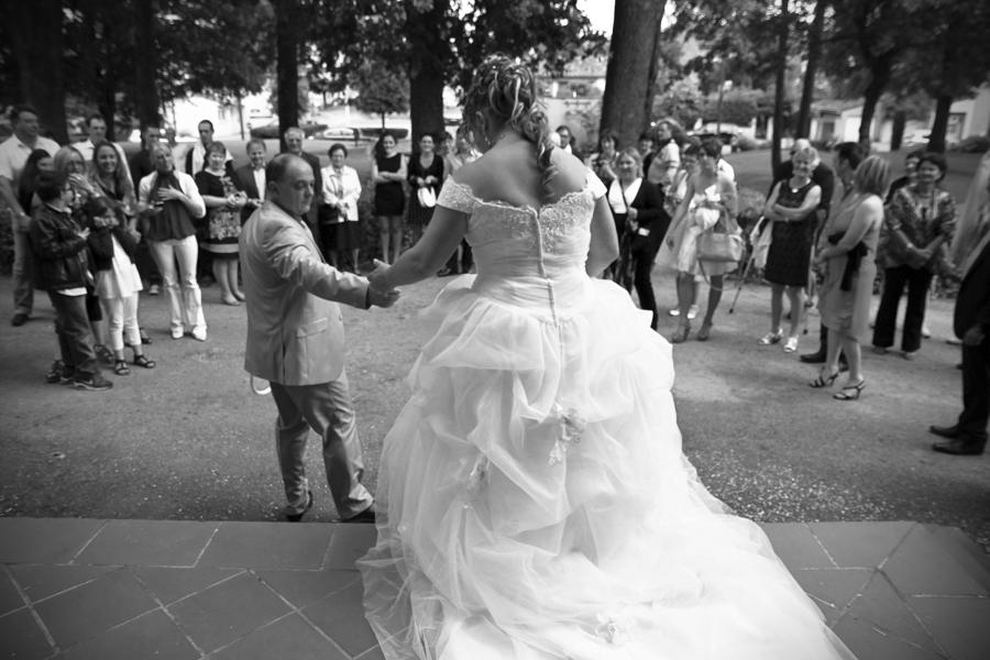 La sortie de la marie