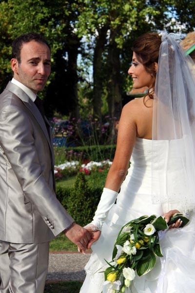 photographe mariage Toulouse - Les mariés au parc