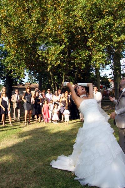 photographe mariage Toulouse - Le bouquet de la mariée