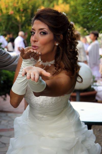 photographe mariage Toulouse - Baiser de la mariée