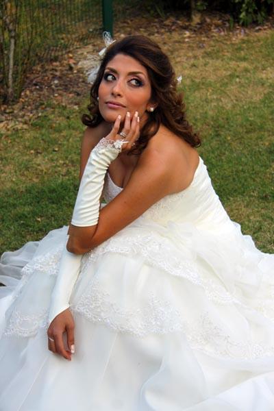 photographe mariage Toulouse - Regard complice de la mariée