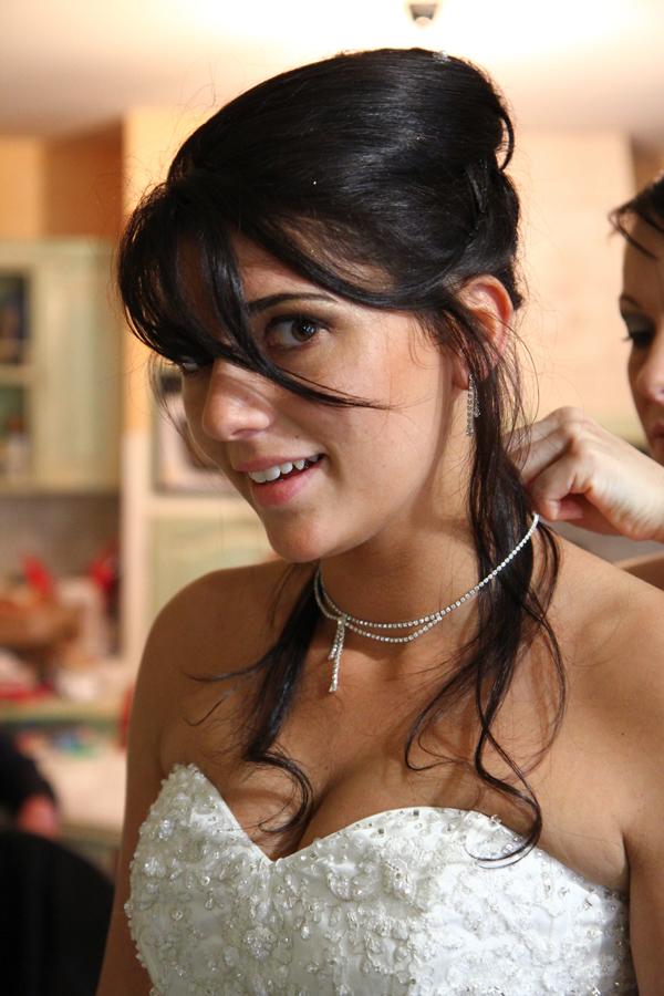 Photographe mariage Muret / Se préparant