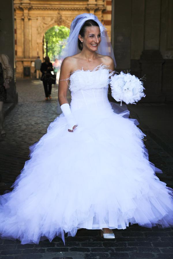 Photographe Mariage Toulouse / L'arrivée au Capitole