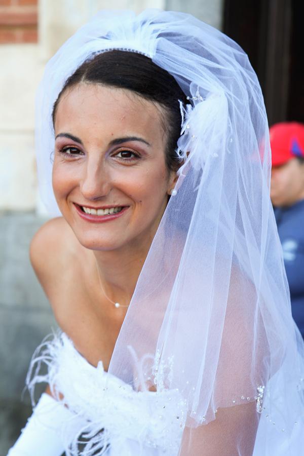 Photographe Mariage Toulouse / Sourire de la mariée