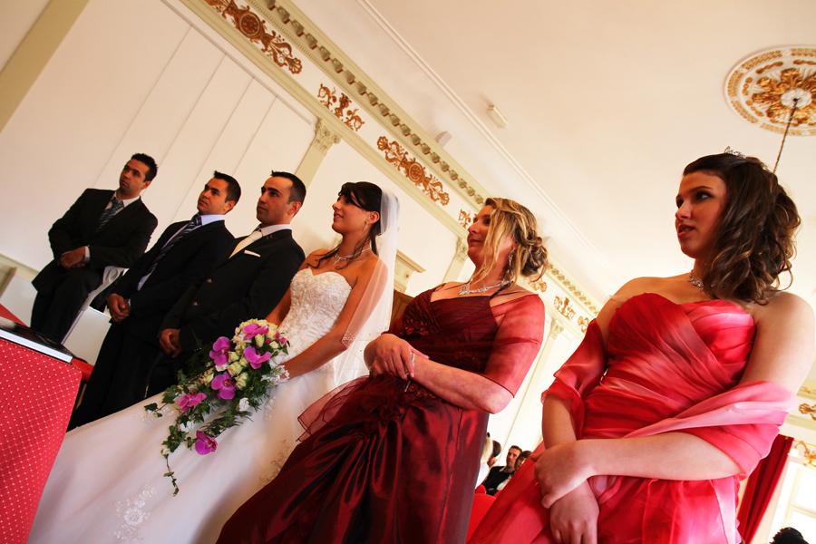 Photographe mariage Muret / Les témoins