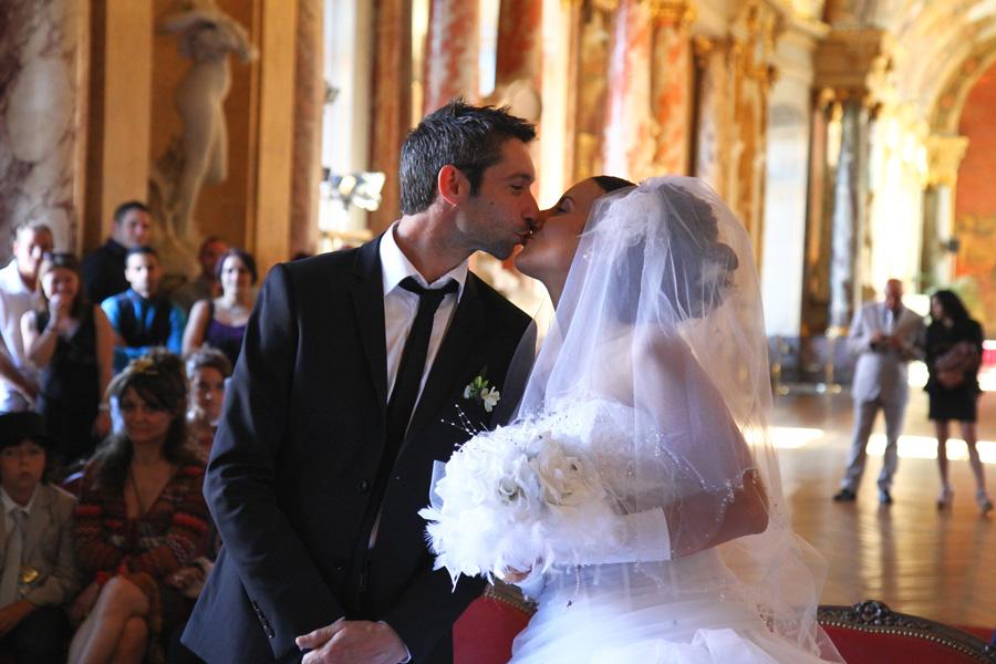 Photographe Mariage Toulouse / Le baiser