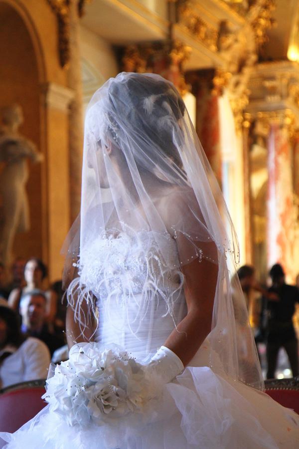 Photographe Mariage Toulouse / La robe de la mariée