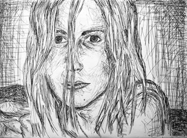 Cours arts plastiques adulte Toulouse - Portrait crayon/2