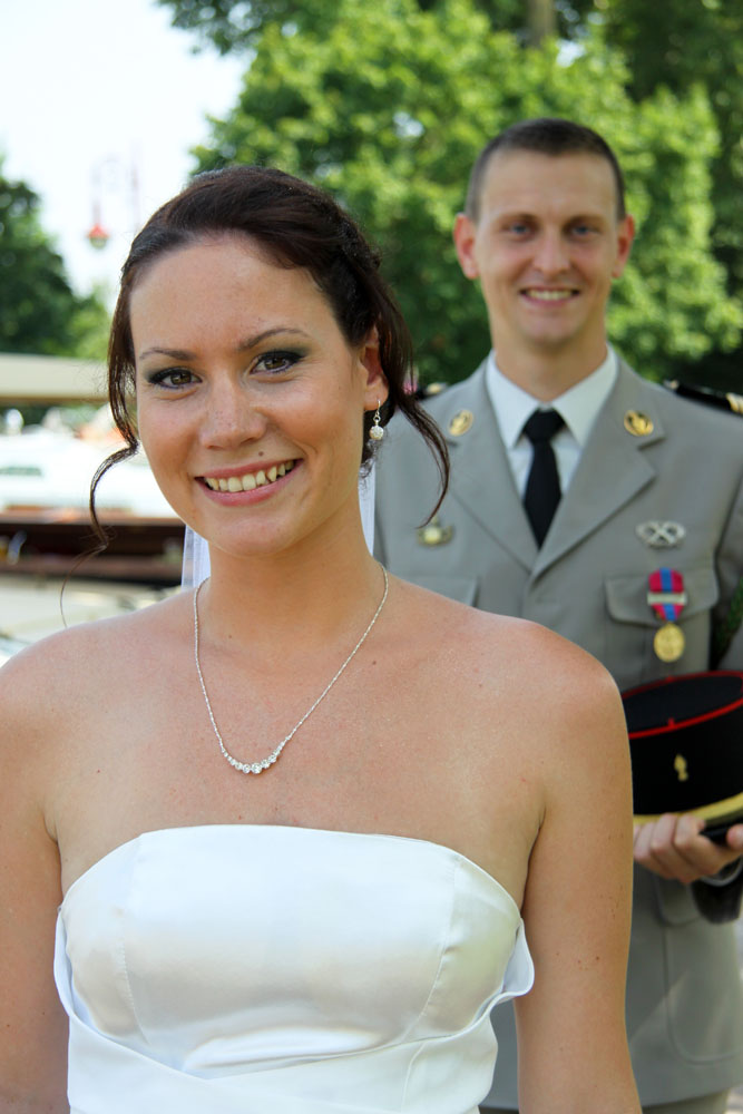 Photographe mariage Montauban - La mariée devant
