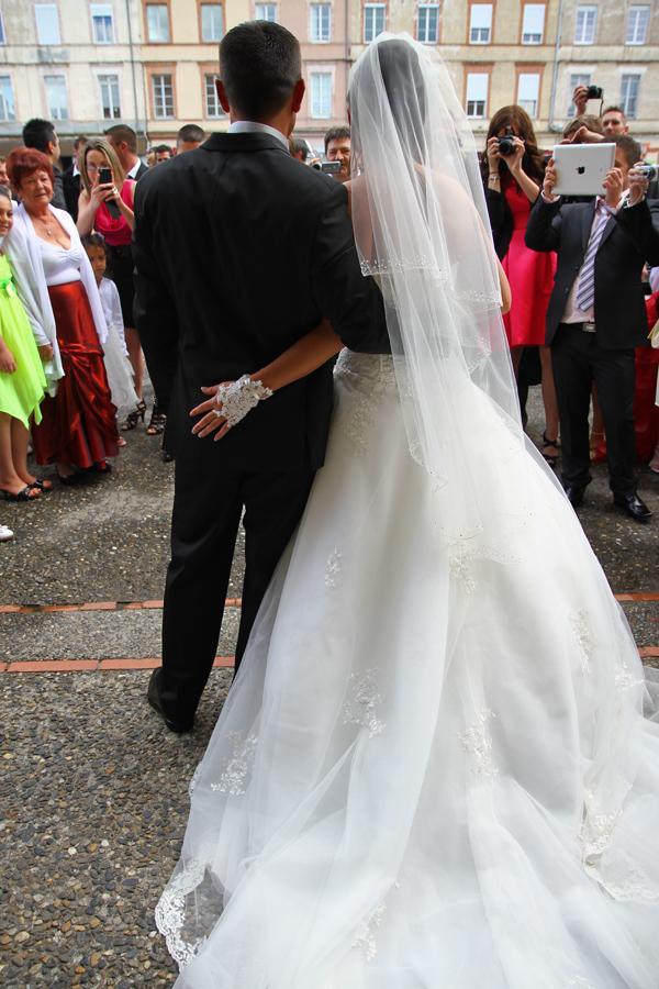 Photographe mariage Muret / Devant les invités